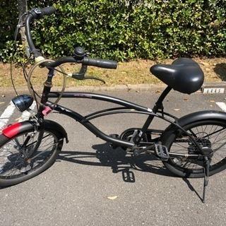 20インチ 6段変速 自転車 サギサカ SAND MAX 20型