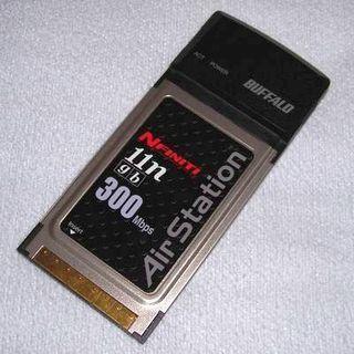 Buffalo 無線LAN子機WLI2-CB-G300N(PCカード)