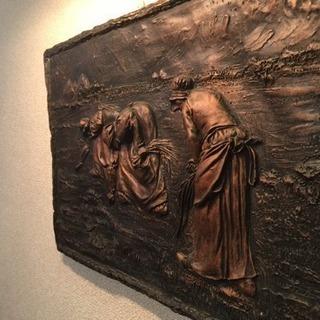 【取引終了】ミレー 銅版画 落ち穂拾い 美術品 アンティーク コ...