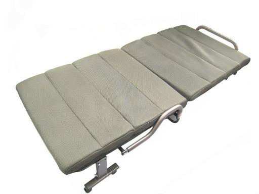 手稲リサイクル リクライニング式 折りたたみベッド キャスター付き