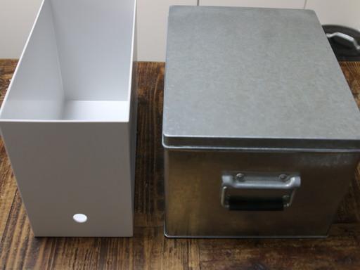 無印良品トタンボックス