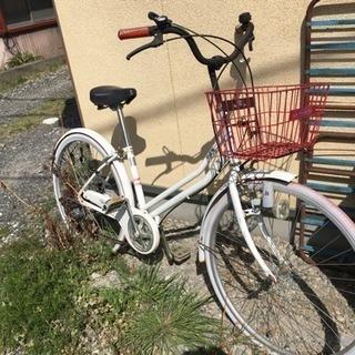 自転車 ② 赤白
