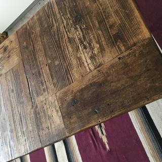 古材 ダイニングテーブル アイアン家具