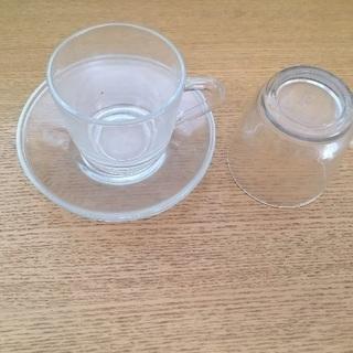 Adelexガラスカップ 2客セット