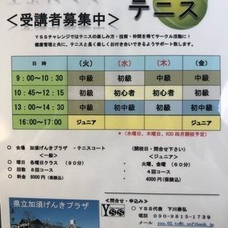 テニスレッスン加須市