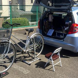 自転車のパンク修理¥1,200~(税込・出張費込)◆ご自宅や出先...