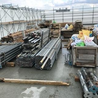 札幌市内にて型枠解体の仕事