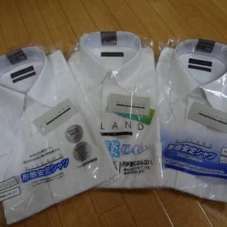 形態安定半袖Yシャツ Mサイズ 3枚セット