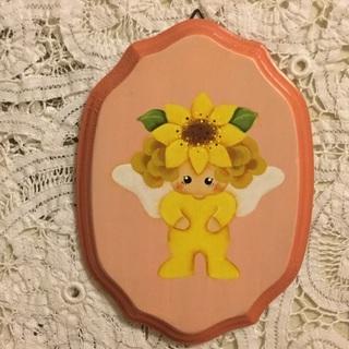 【値下げしました】トールペイント壁飾り 妖精