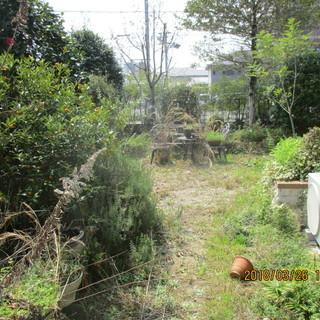 福岡防草工事、三和土、格安、庭の清掃