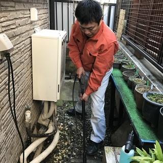 害虫駆除、排水管洗浄 業界相場価格よりも低価格が自慢です