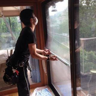 暑さ対策に!!窓ガラスフィルム
