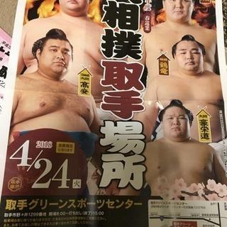 大相撲 春巡業 取手場所