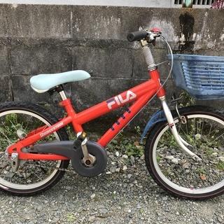 ブリヂストン子供用自転車18インチ 『FILA』