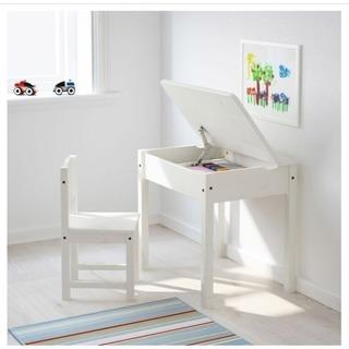 子供用デスク&チェア 机 椅子 収納デスク IKEA イケア