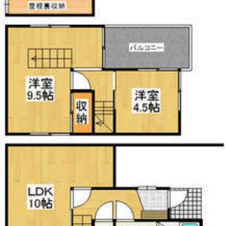 岡崎市中町貸家 駐車場無料! ペット可能 楽器演奏可能 DIY可能