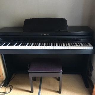 KORG 電子ピアノ (中古)椅子付き