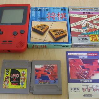 GAMEBOY ゲームボーイ 本体とカセット4個