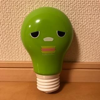 ガチャピンの電球型ライト