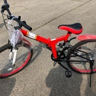 新品、未使用 27インチ 折りたたみ自転車
