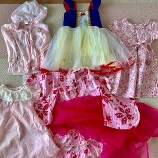 【お譲り先決定】春夏*女の子服かわいめセット 100〜120