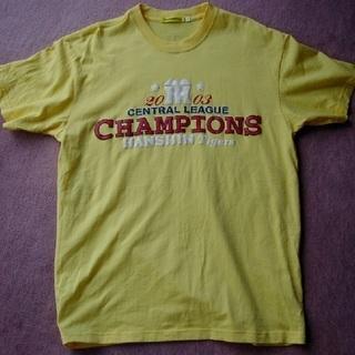 レア物?新品 2003 阪神タイガース セリーグ優勝Tシャツ Lサイズ
