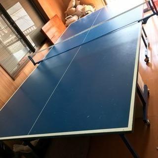 公式卓球台差し上げます。 自宅練習用・社員同士の娯楽・老人ホームや...