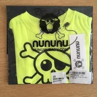 nununu ベビー服☆パイレーツTシャツ(ネオンイエロー)