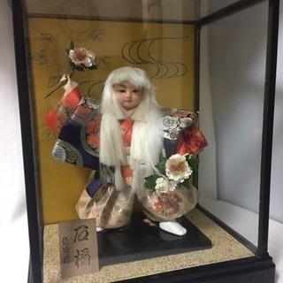 五月人形☆ 日本人形 石橋 ケース入