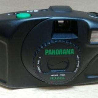パノラマ撮影も出来るフィルムカメラ(動作未確認)