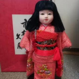 美品 久月 市松人形