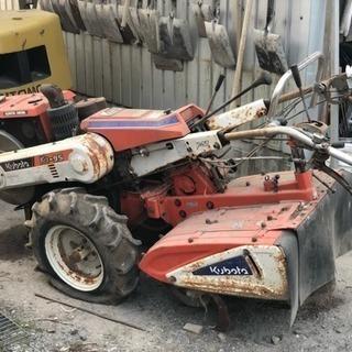 クボタ耕運機