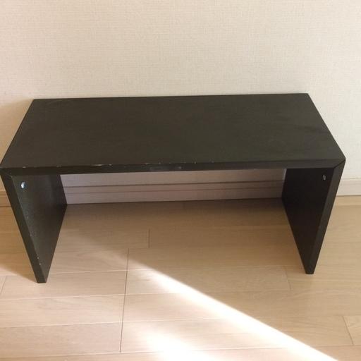 無印良品 コの字家具 タモ材 サイドテーブル