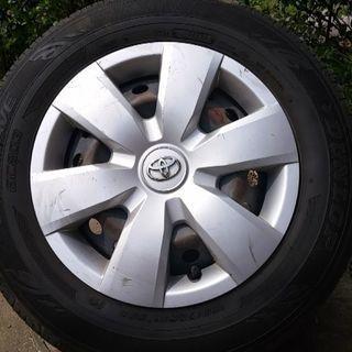 6ヵ月使用タイヤ
