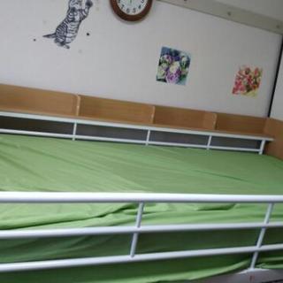 ニトリシステムベッド(ベッドとデスク)