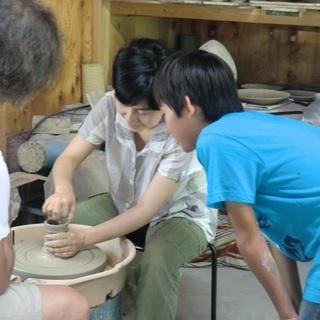 山里で陶芸体験を!