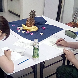 4月16日『本気のお絵かき教室』~武蔵新城