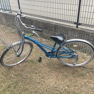 26インチ自転車。レミュー(内装3段ギアタイプ)