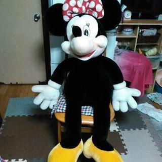 ミニー 巨大ぬいぐるみ ミッキーマウス