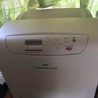 無料 カラーレーザーNEC5750c