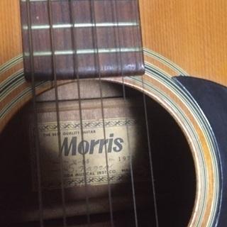 フォークギター(Morris)