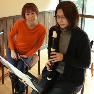 鎌倉の大人のためのリコーダー教室「Kamakura婦人」では全く初...