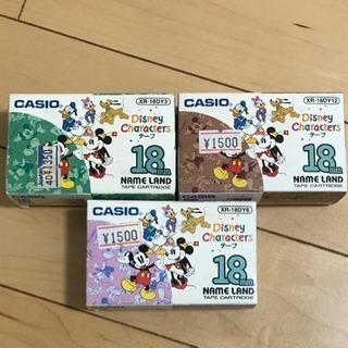 大幅最終値下げ!CASIO テプラ テープカセット※Disney③