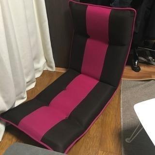 座椅子 (背もたれ、座面可変)