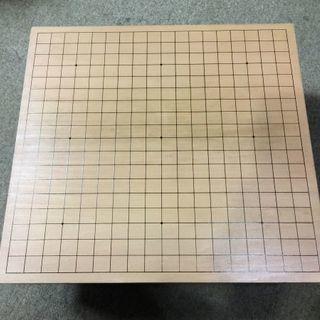 碁盤 厚さ10㎝  45×42㎝ 高19㎝