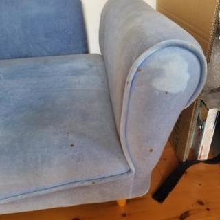 二人がけソファーあげます。 - 家具