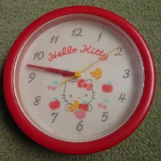 キティちゃん壁掛け時計