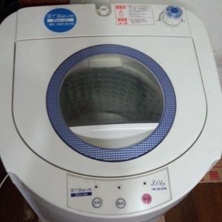 【無料中古】小型洗濯機 3kg
