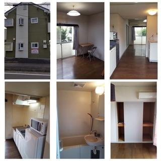 大変綺麗なアパートです。繁華街に近くとても便利な場所で環境抜群。全部屋家電付! カーテンも取付有! 大変人気の高い物件!TEL:027-289-6937  の画像