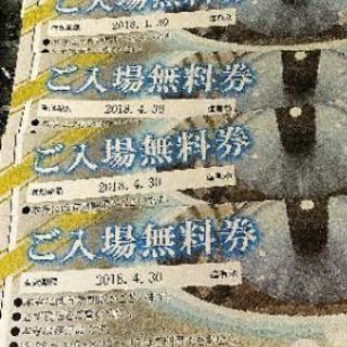 【 大幅値下】4/30迄有効!テルメ金沢ご入場無料券4枚+おまけ(...